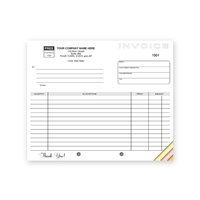 Compact Carbonless Invoice