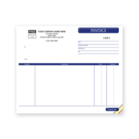 Compact Invoice, Unlined