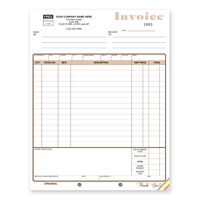 Appliance or Furniture Invoice