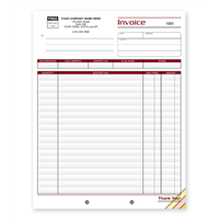 Professional Shipping Invoice